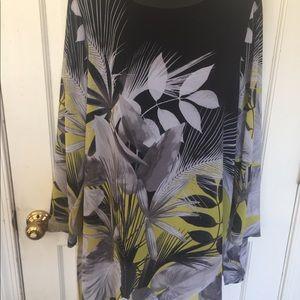 Alfani long sleeve blouse.Size large.